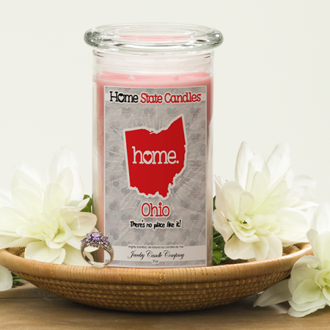 ohio home state candles rball